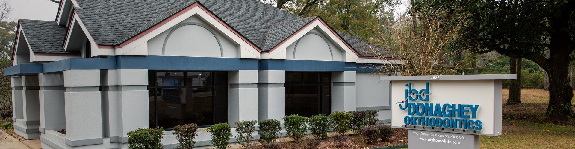 Office Building Donaghey Orthodontics Mobile Chatom AL